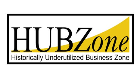 Dustless Air Filter Company affiliation | HUBZone Logo